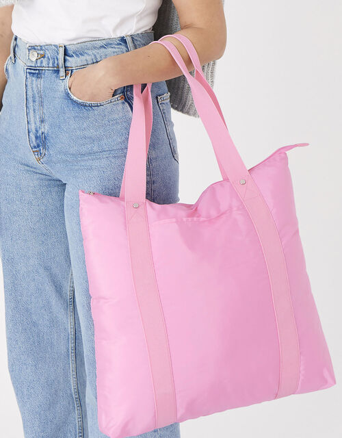 Packable Shopper Bag, Pink (PINK), large
