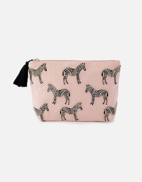 Zebra Wash Bag WWF Collaboration, , large