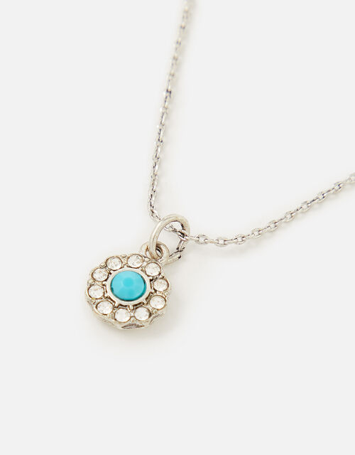 Crystal Pendant Necklace, , large