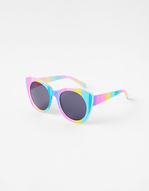Rainbow Stripe Sunglasses, , large