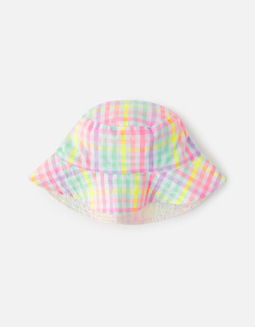 Check Reversible Hat , Multi (BRIGHTS-MULTI), large