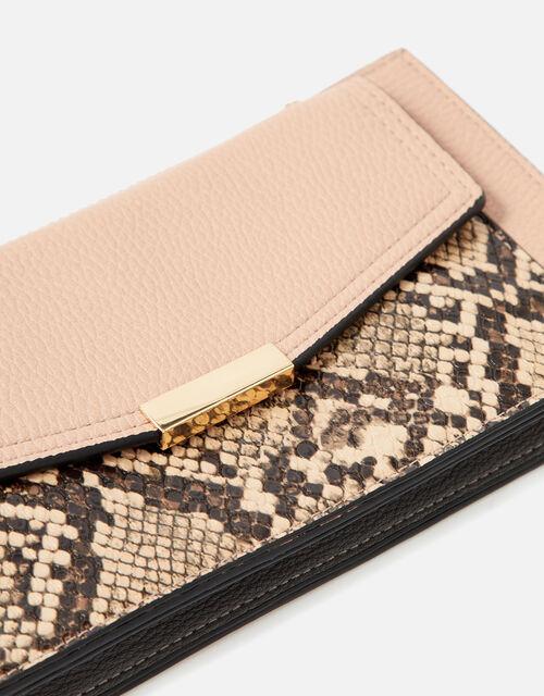 Front Pocket Zip Purse, Pink (PINK), large