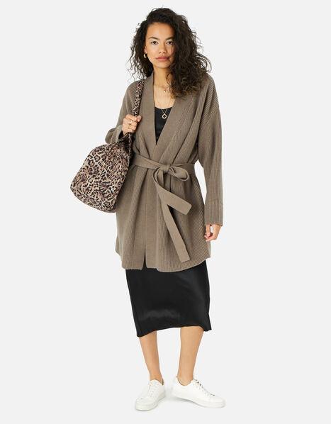 Leopard Weekender Bag , , large