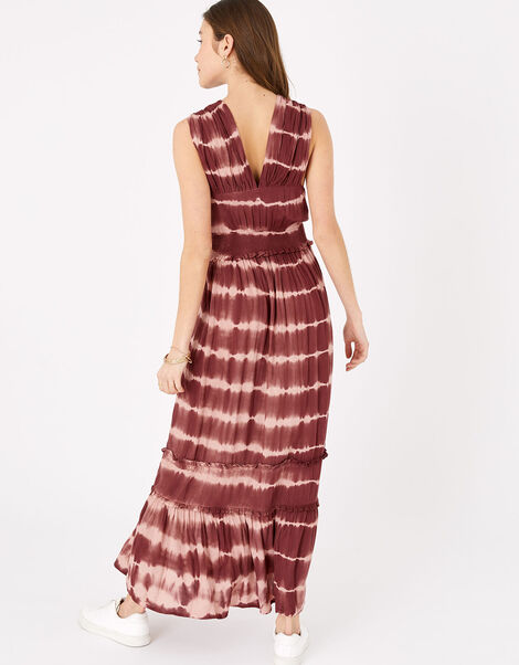 Tie Dye Maxi Dress Multi, Multi (DARKS-MULTI), large