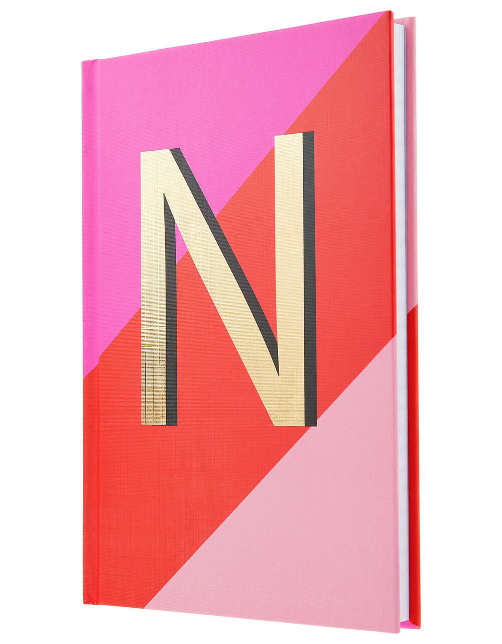 City N Initial Lined Notebook, , large