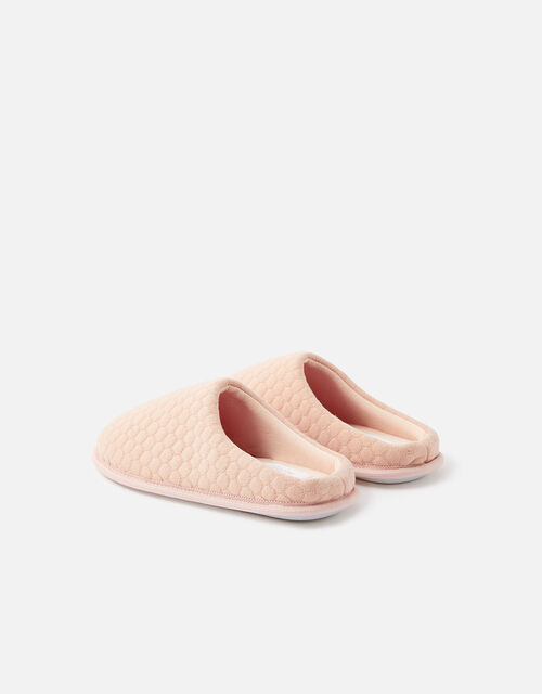 Bubble Stitch Slippers, Pink (PINK), large