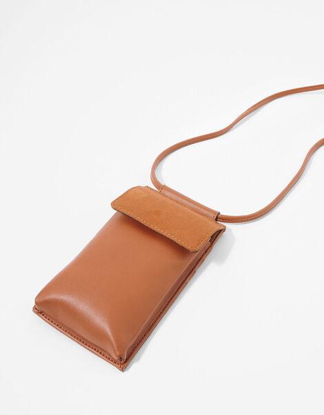 Carrie Utility Phone Bag Tan, Tan (TAN), large