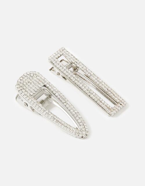 BRIDAL Diamante Hair Clips , , large