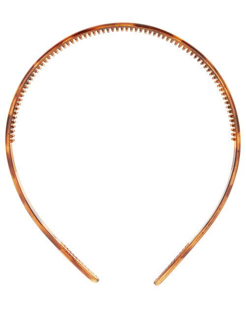 Slim Tortoiseshell Headband, , large
