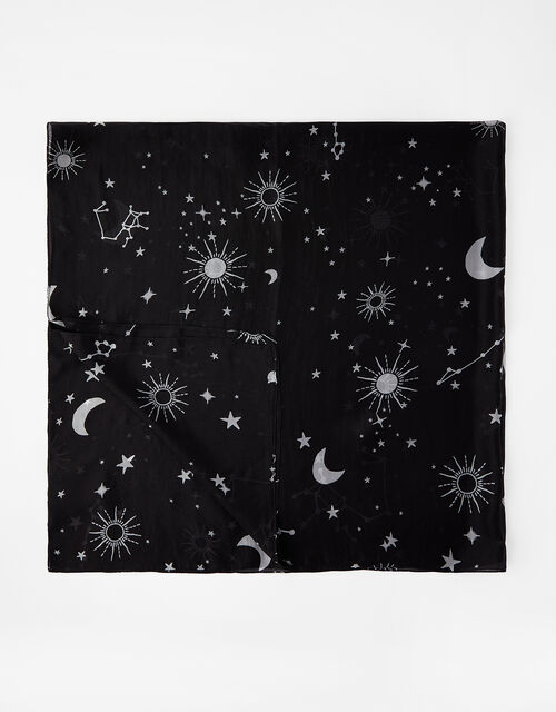 Wish Upon a Star Square Scarf in Pure Silk, , large