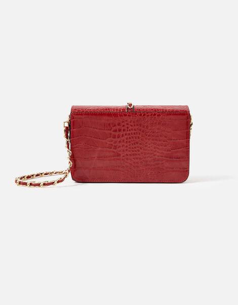 Alicia Padlock Cross-Body Bag Red, Red (RED), large