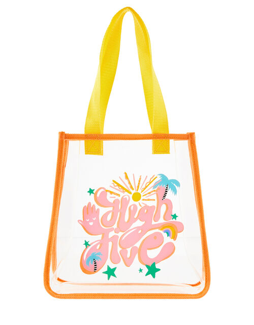 High Five Jelly Shopper Bag, , large