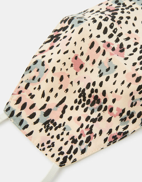 Printed Face Covering in Pure Cotton, , large