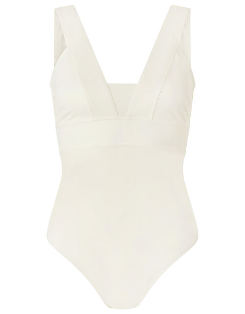 Lexi Plunge Shaping Swimsuit, Natural (IVORY), large