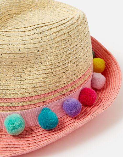 Pom-Pom Hat Multi, Multi (BRIGHTS-MULTI), large