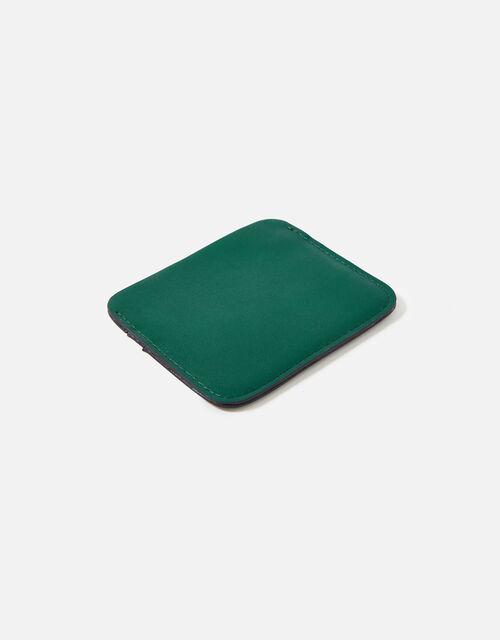 Colourblock Cardholder, Green (GREEN), large