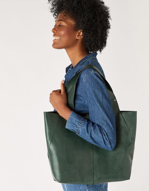 Shopper Bag, Green (GREEN), large
