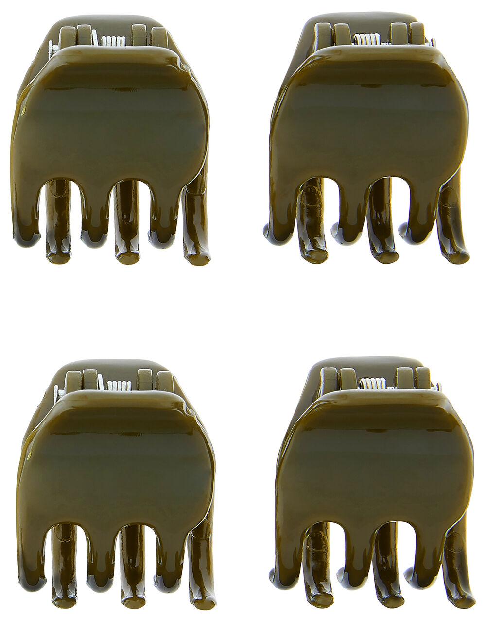 Basic Bulldog Hair Clip Set, , large