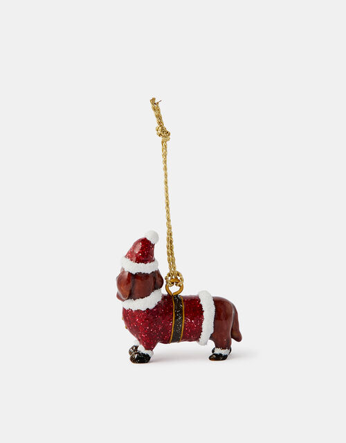 Sausage Dog Hanging Decoration, , large