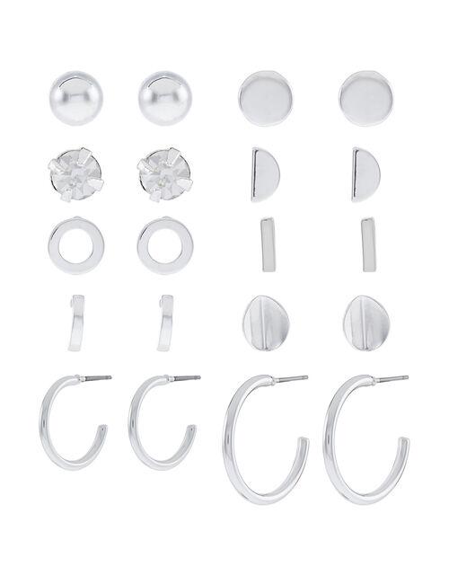 Stud and Hoop Earring Multipack, , large