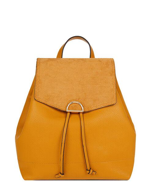 Kimmi Backpack, Yellow (OCHRE), large