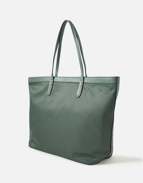 Tiffany Nylon Tote Bag Green, Green (GREEN), large