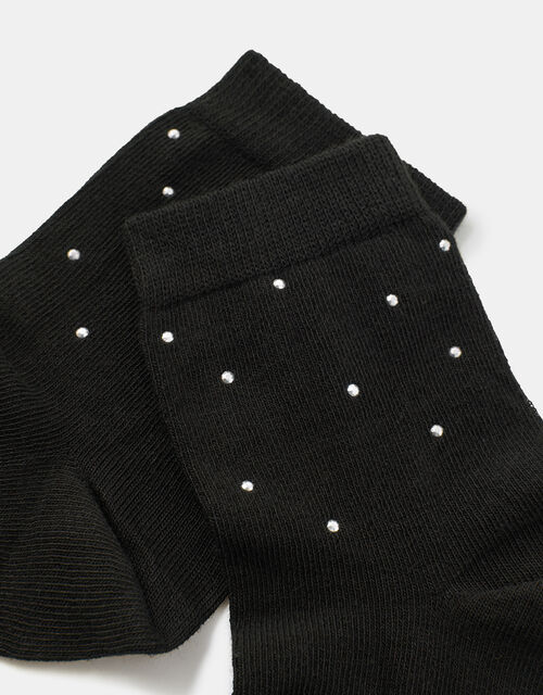 Studded Ankle Socks, , large