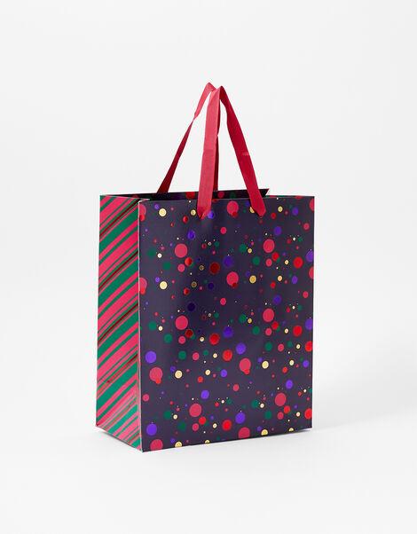 Foil Spot Medium Gift Bag, , large