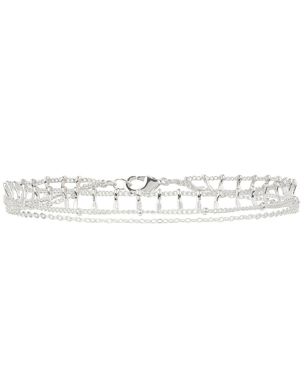 Double-Layered Anklet, , large