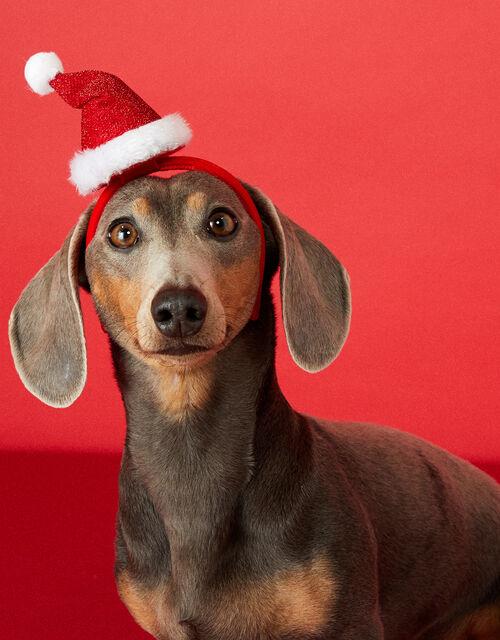 Santa Headband, Red (RED), large