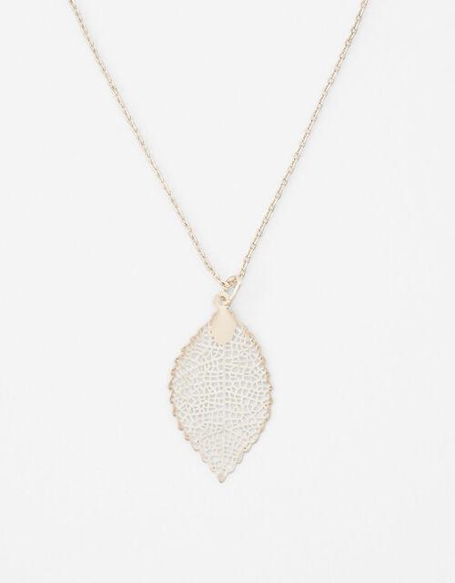 Fili Leaf Pendant Necklace, , large