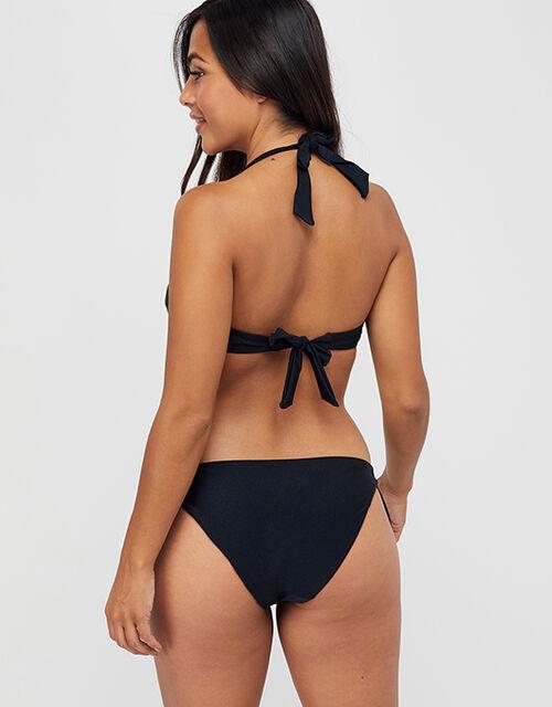 Maria Tie Side Bikini Brief, Black (BLACK), large