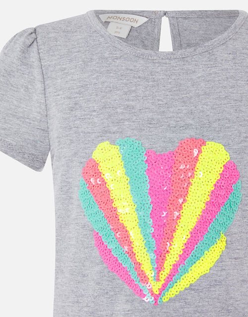 Sequin Shell T-Shirt, Multi (BRIGHTS-MULTI), large