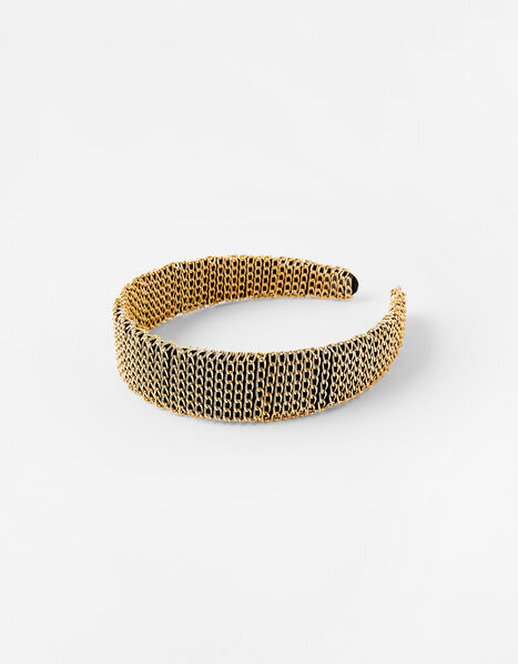Chain-Wrapped Headband, , large