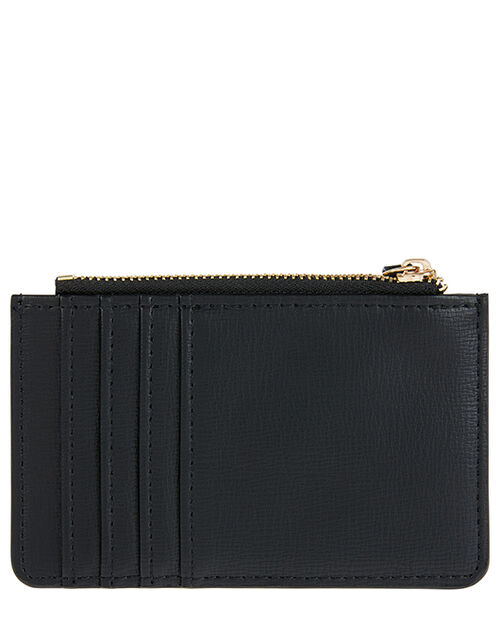 Shoreditch Card Holder with Charm, Black (BLACK), large