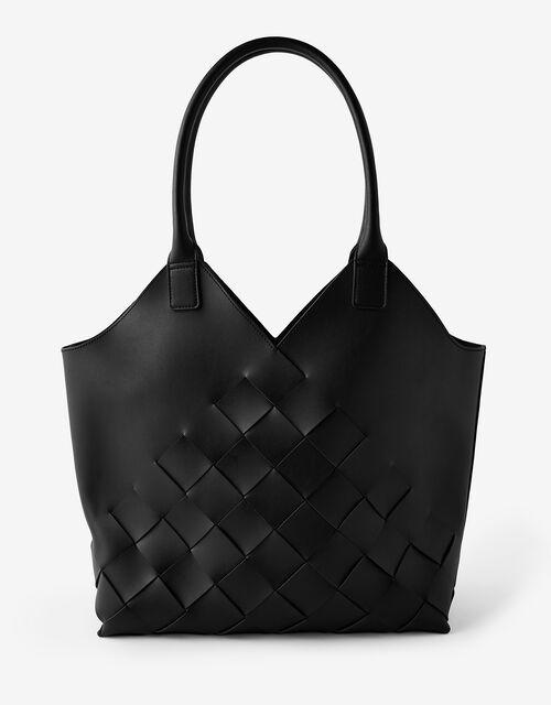 Harley Weave Shopper Bag, Black (BLACK), large