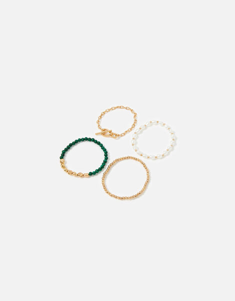 Reconnected Pearl Bead Bracelet Multipack , , large