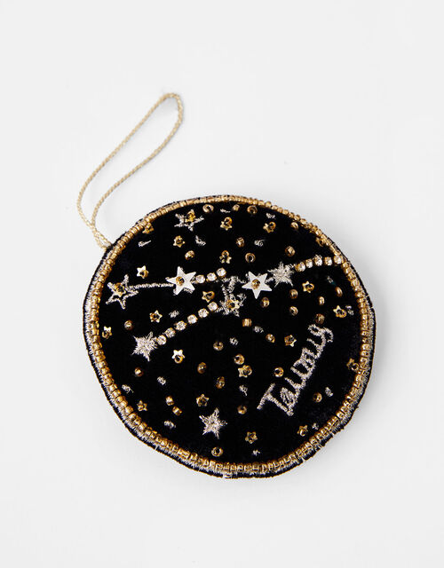 Star Sign Hanging Decoration - Taurus, , large