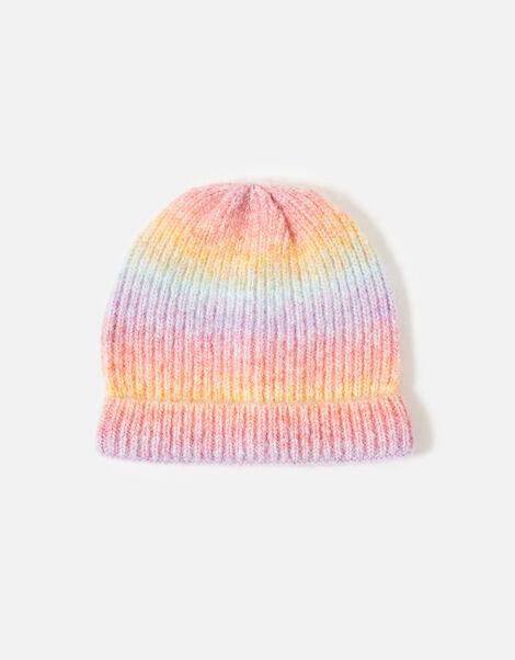 Space Dye Beanie Hat Multi, Multi (BRIGHTS-MULTI), large