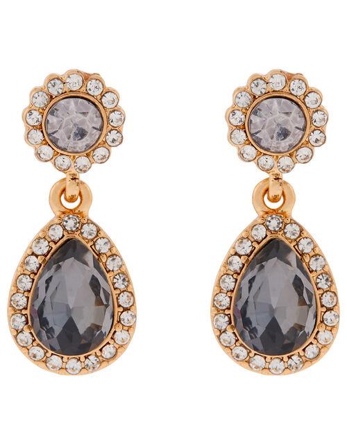 Christmas Gem Short Drop Earrings, , large