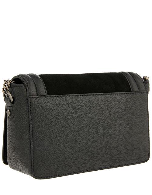 Tasha Leather Cross-Body Bag, , large