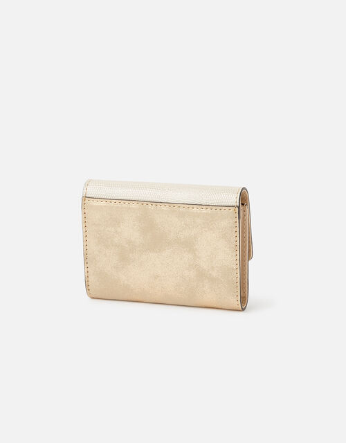 Shimmer Mini Wallet, Gold (GOLD), large