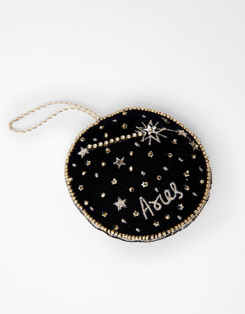 Star Sign Hanging Decoration - Aries, , large