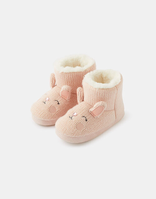 Bella Bunny Slipper Boots , Pink (PINK), large