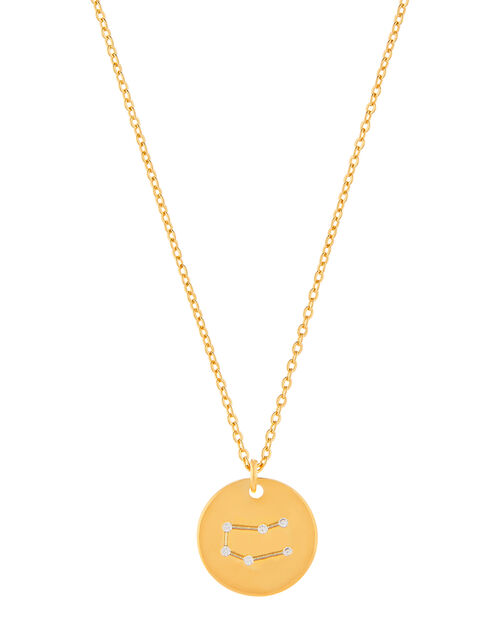 Gold-Plated Constellation Necklace - Gemini, , large