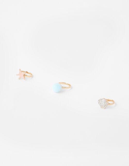 Mermaid Ring Set, , large