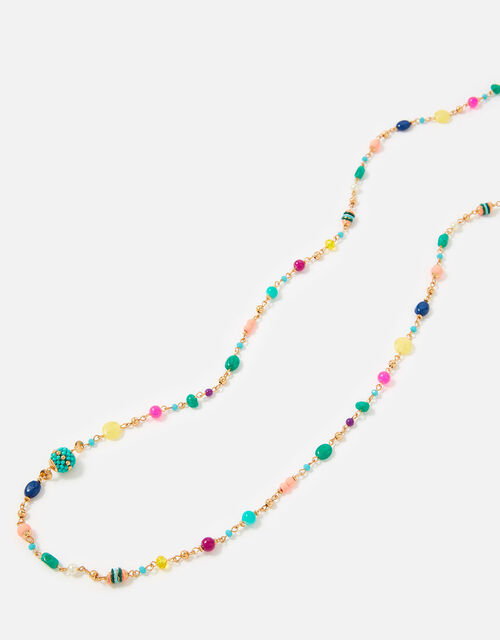 Island Vibes Beaded Rope Necklace , , large