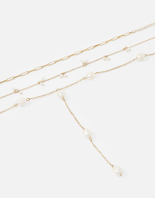 Freshwater Pearl Necklace Set, , large