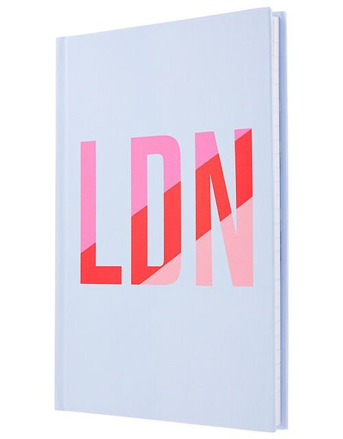 London Logo Notebook, , large