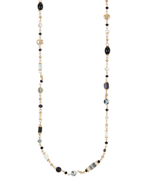 Extra-Long Beaded Rope Necklace, , large